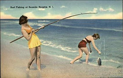 Original Vintage Fishing Postcard Gifts