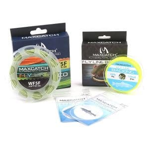 Maxcatch ECO Floating Fly Line, Backing, and Tapered Leader