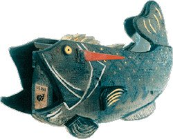 A Fish Mailbox Says That A Fisherman Lives Here