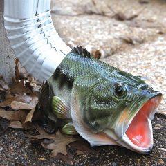 fish rain gutter downspout extension