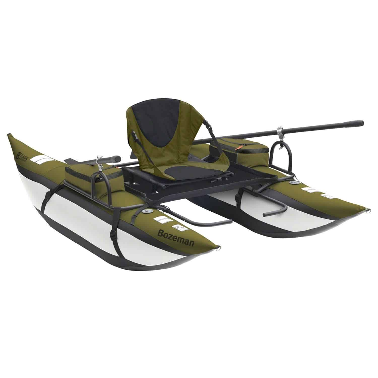 small inflatable pontoon fishing boats